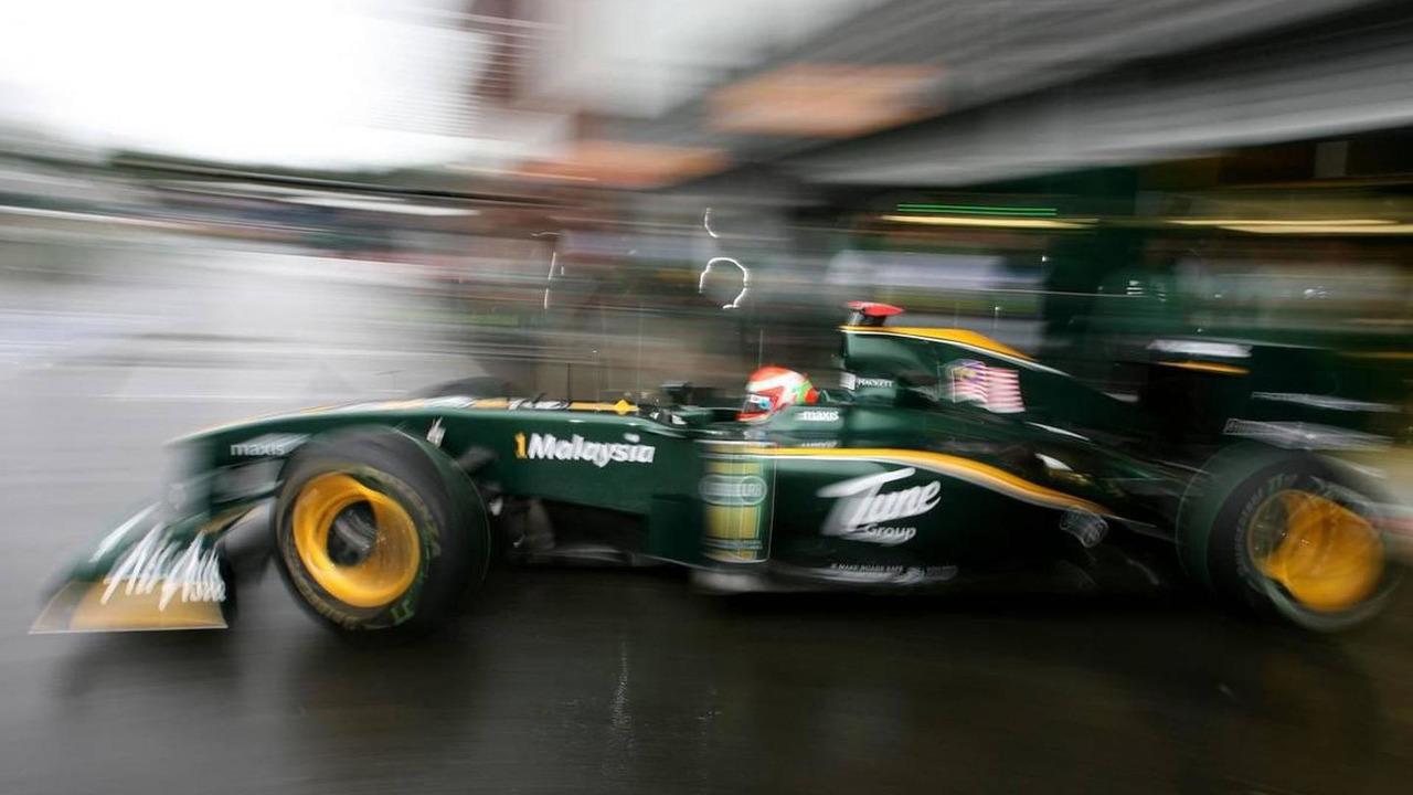 Jarno Trulli (ITA), Lotus F1 Team - Formula 1 World Championship, Rd 13, Belgium Grand Prix, Friday Practice, 27.08.2010 Spa, Belgium