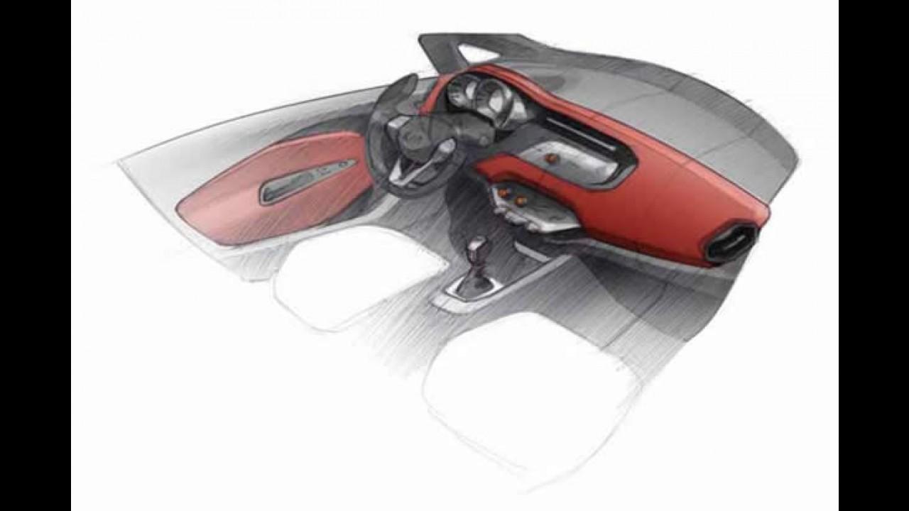 Novo Kia 2012 tem esboços oficiais divulgados - Lançamento será no Salão de Genebra