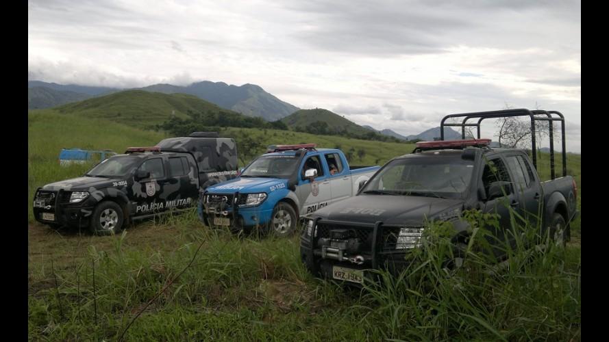 Nissan Frontier é usada em treinamento da Polícia Militar do RJ