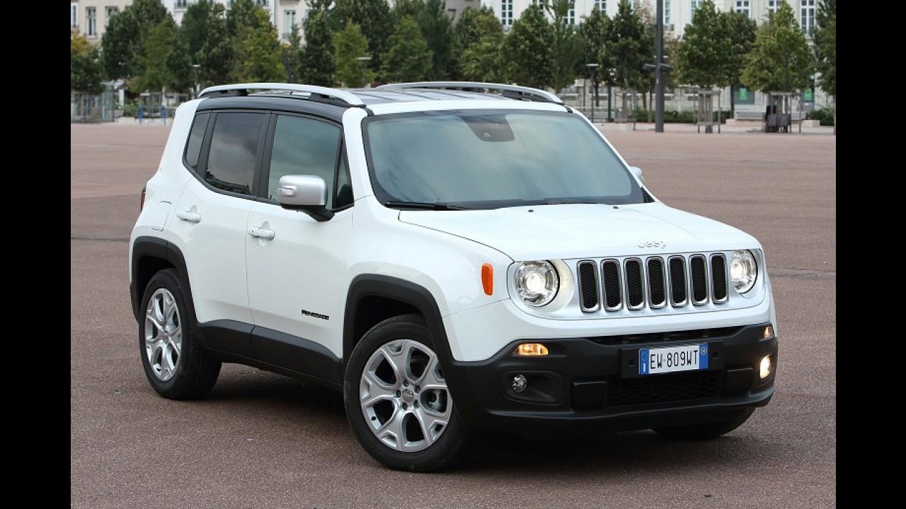 Jeep considera versões SRT para Renegade e Cherokee