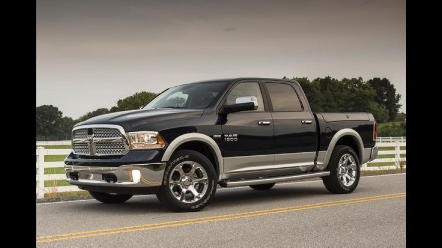 EUA: RAM vende mais picapes que a Chevrolet pela primeira vez desde 1999