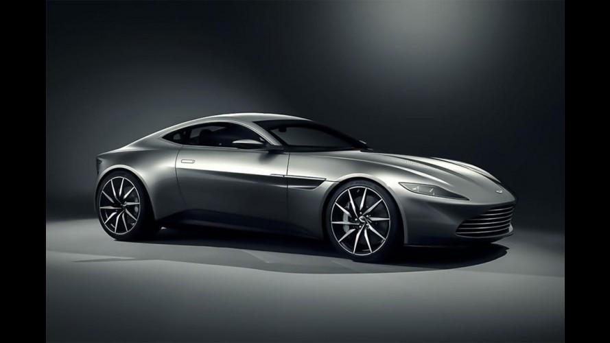 Aston Martin DB10 será o carro de James Bond em SPECTRE