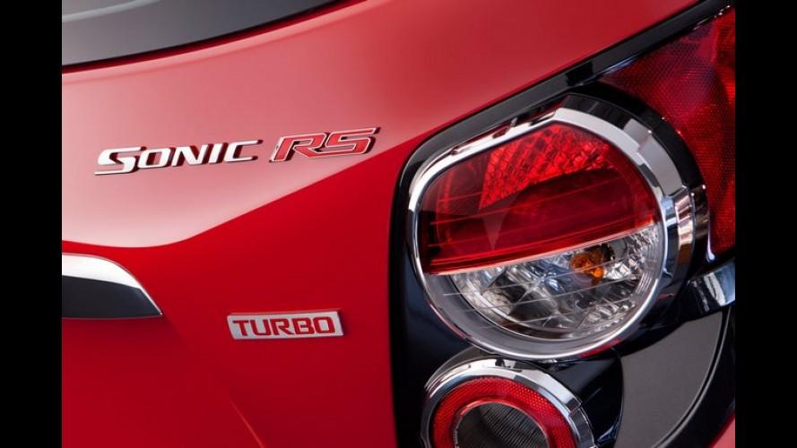 Chevrolet Sonic RS Turbo tem preço fixado em US$ 20.995 nos Estados Unidos