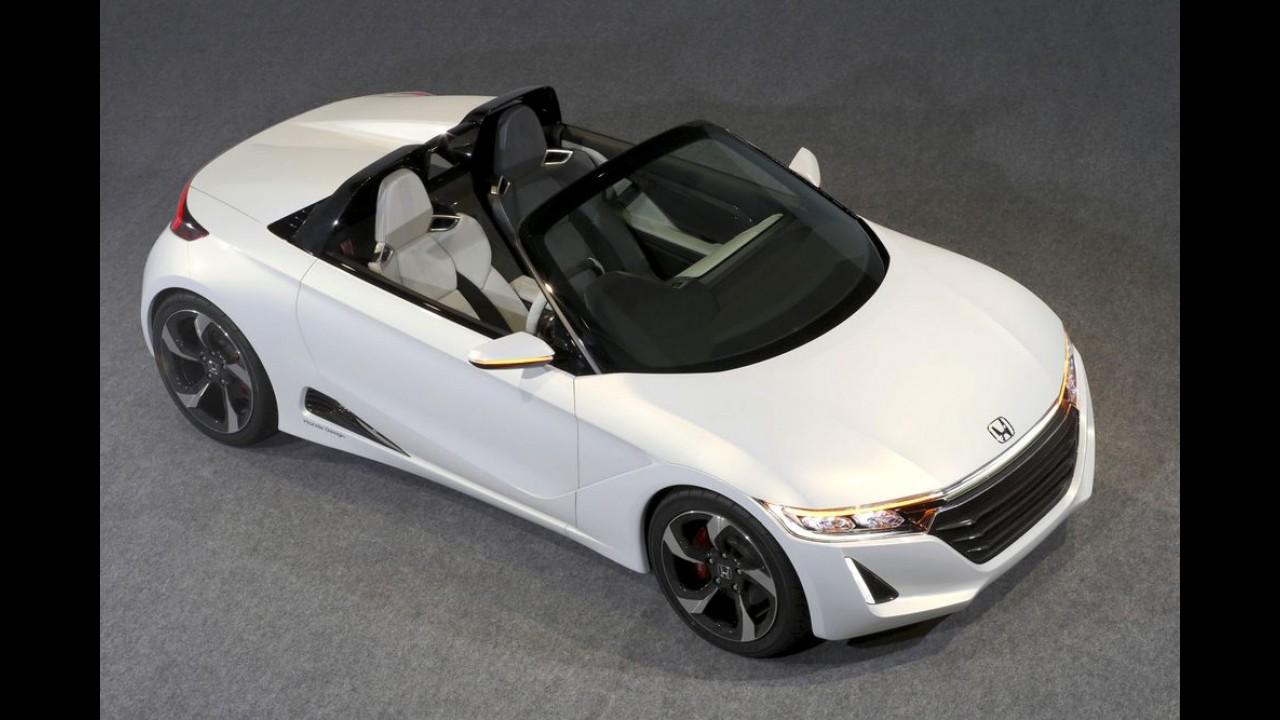 Honda revela o S660 Concept, um mini roadster de 64 cv só para o Japão