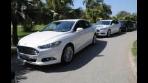 Ford dá carona gratuita com novo Fusion em aeroporto de SP