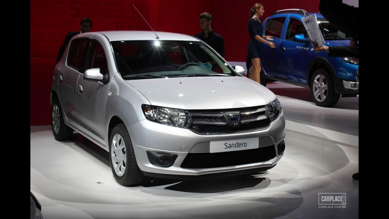 Salão de Paris: Estreia mundial dos novos Dacia Sandero e Logan - Veja Fotos