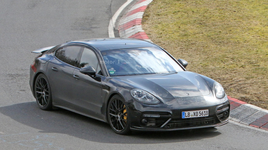 2017 Porsche Panamera flexes its muscles on the 'Ring [video]