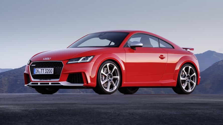 New Audi TT RS pricing starts at £51,800 in U.K.