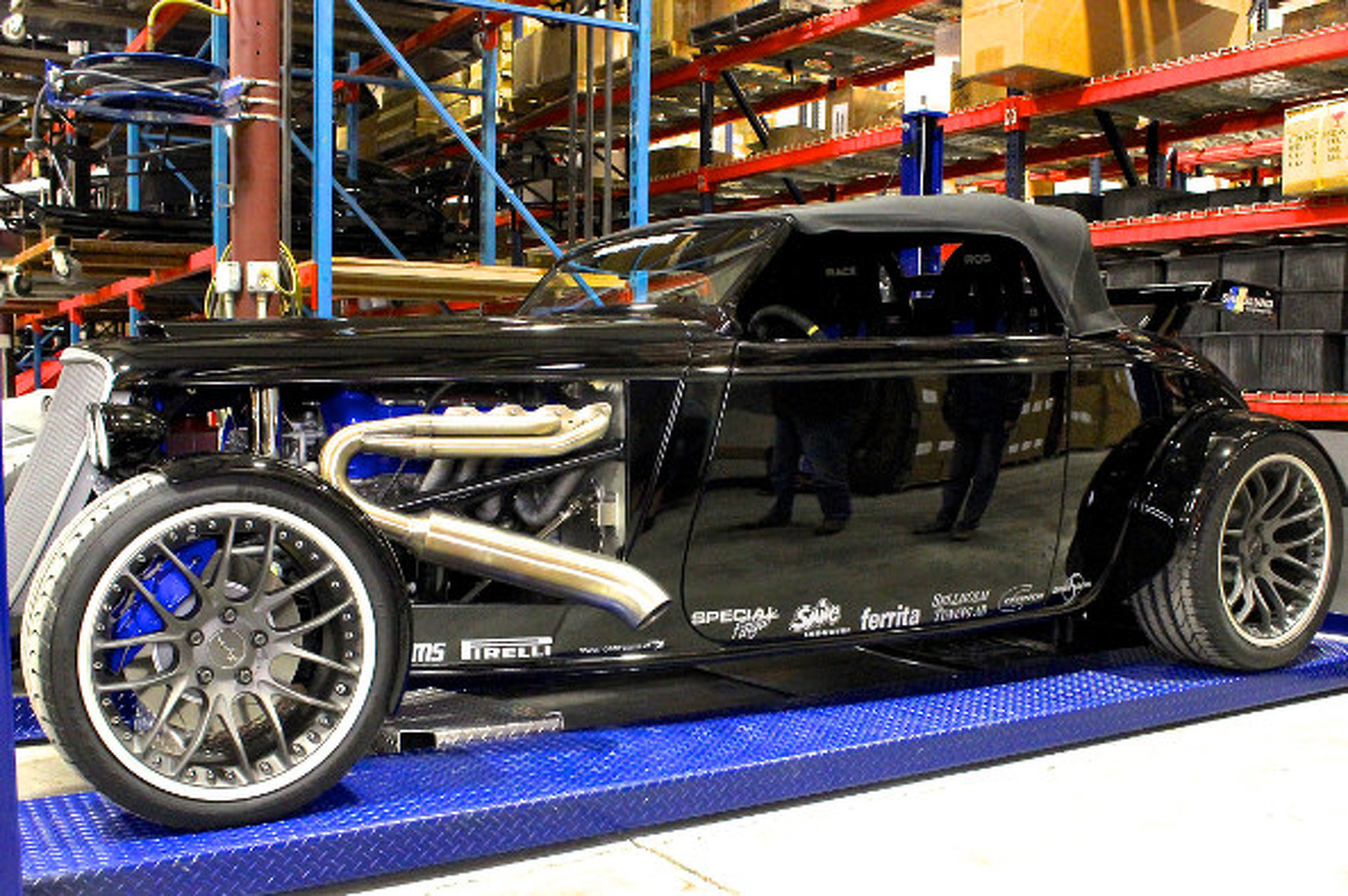 Factory Five 33 Roadster is Real Life Lincoln Phaeton Concept