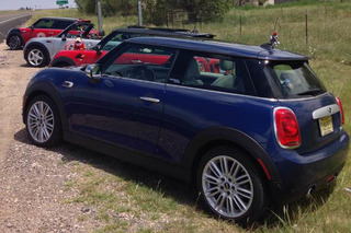 Driving Cross Country in a New Mini was a Total Blast