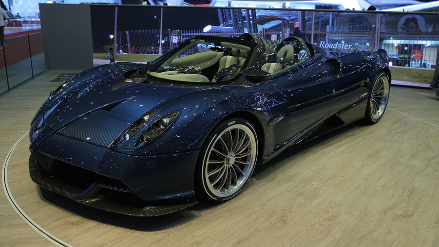 Pagani Huayra Roadster is the 752hp droptop hypercar of your dreams