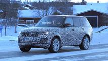 2018 Range Rover Plug-in Hybrid spy photo