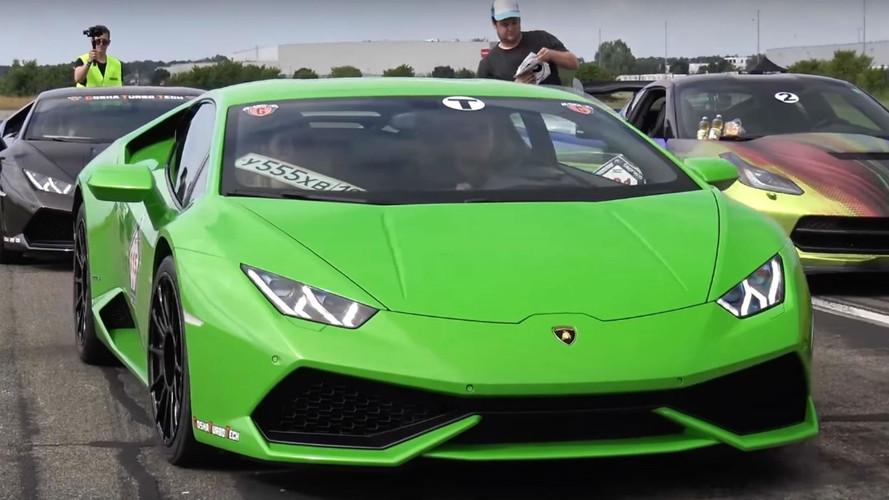 Vidéo Tuning - une Lamborghini de plus de 1000 ch