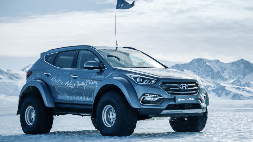 Hyundai Santa Fe percorre 6 mil km na Antártica com preparação especial