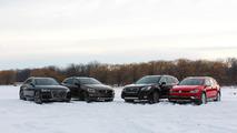 Four High-Riding Wagons