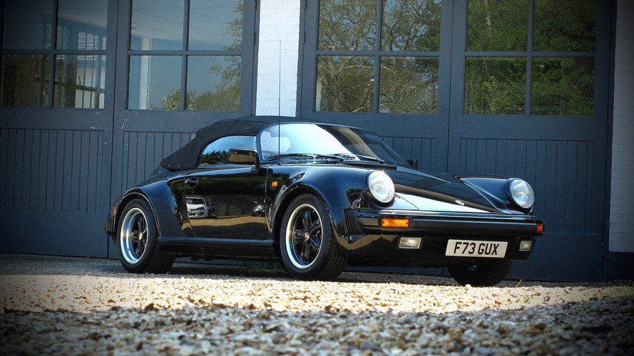 Auction-Bound Porsche 911 Speedster Has Driven Just 5,590 Miles