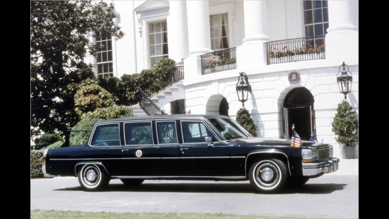 Ronald Reagan: Cadillac Fleetwood 75 (1984)
