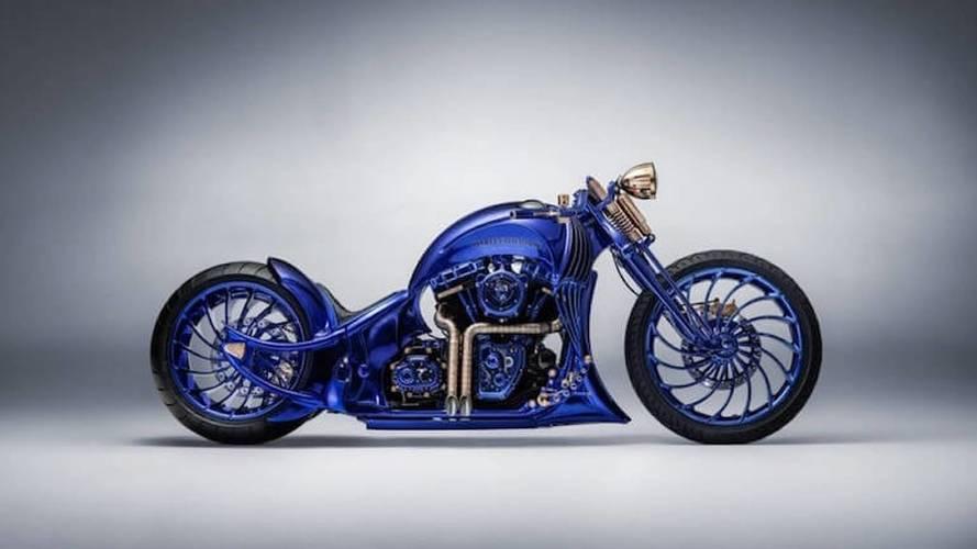 Blue Edition Is A Near $2M Harley Softail Slim