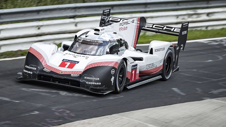 Porsche obliterates Nordschleife record with 919 Evo