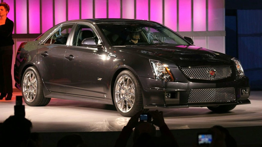 2009 Cadillac CTS-V Debuts at NAIAS