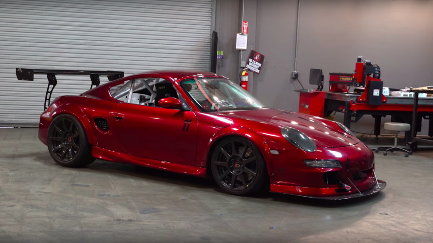 This Biturbo Porsche Boxster With Central Driver's Seat Is Bonkers