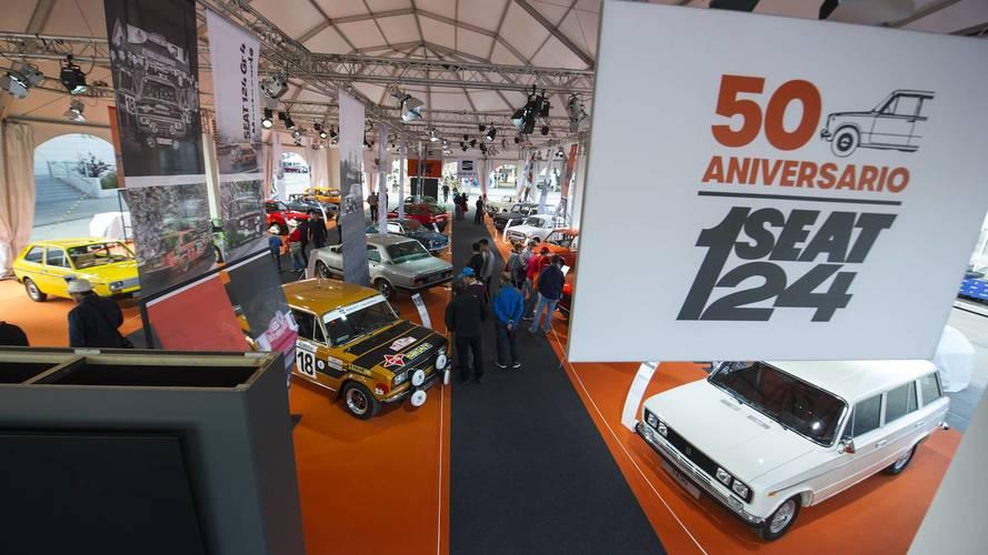 SEAT celebra el 50 aniversario del 124 en el circuito del Jarama
