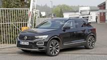 VW T-Roc R new spy photos