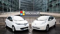 Renault-Nissan Alliance Microsoft Partnership