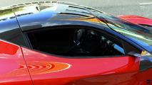 La Ferrari LaFerrari Aperta filmée à Barcelona