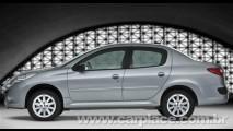 Novo Peugeot 207 Passion - Versão sedã começa a ser vendida em outubro
