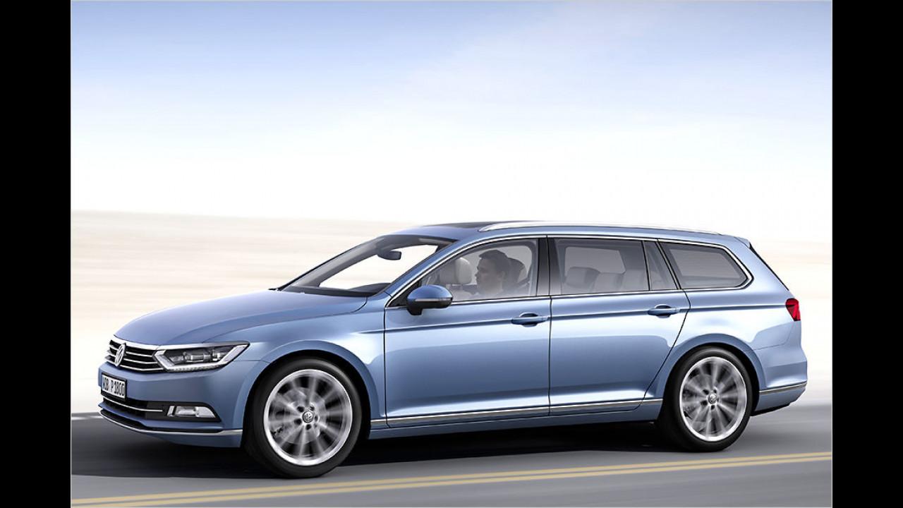 Platz 2: VW Passat