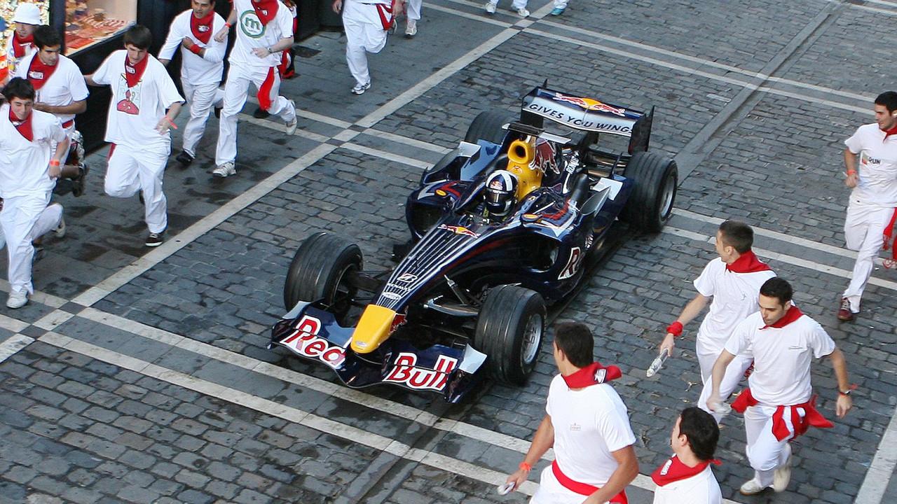 Red Bull F1, San Fermin 2008