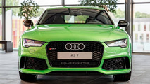 Audi RS7 Sportback in Apple Green Metallic