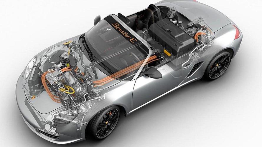 Porsche Boxster E specifications announced