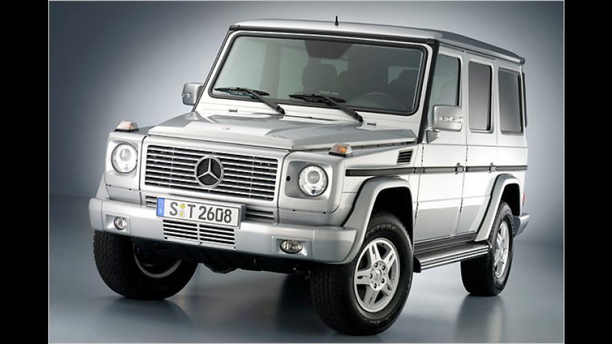 Mercedes schickt die G-Klasse überarbeitet ins Jahr 2007