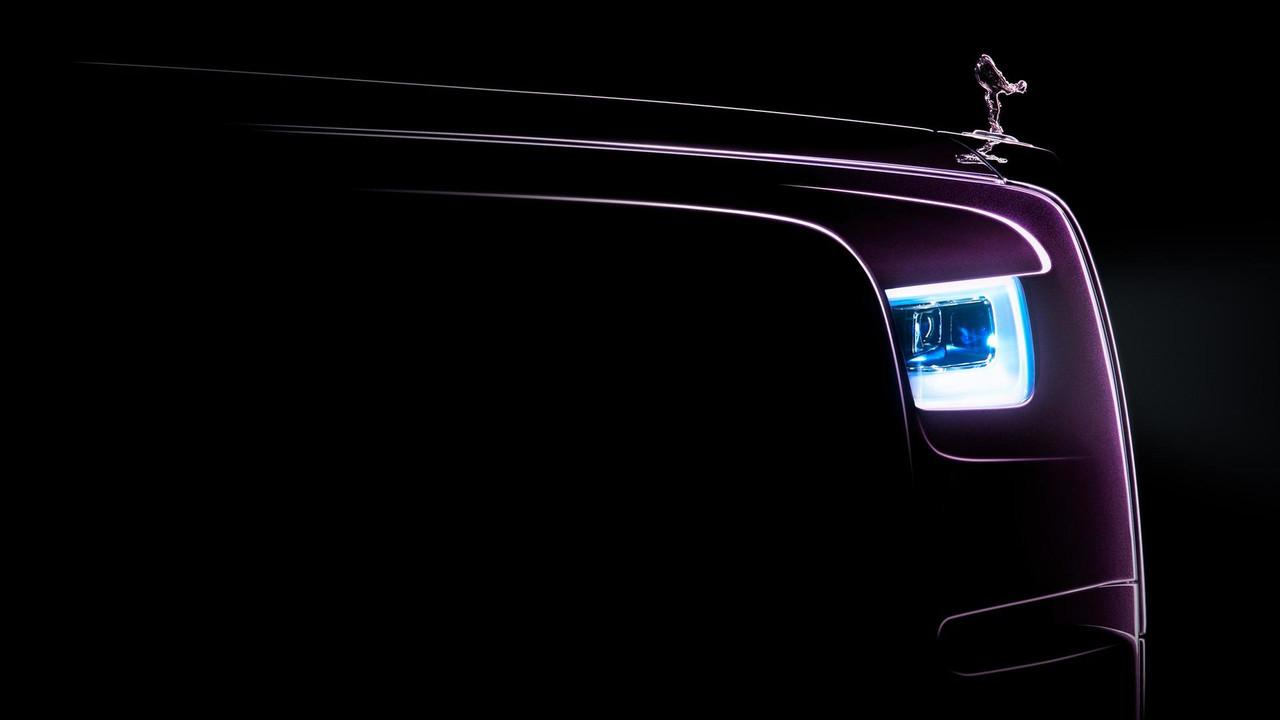 New 2018 Rolls-Royce Phantom teaser