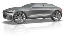 Audi Q4 E-Tron Concept tasarım çalışması