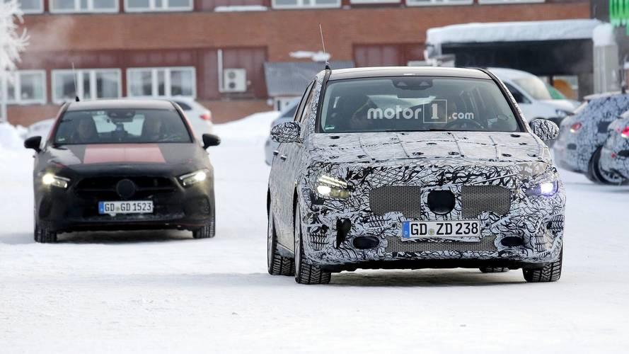 2018 Mercedes B-Serisi casus fotoğraflar