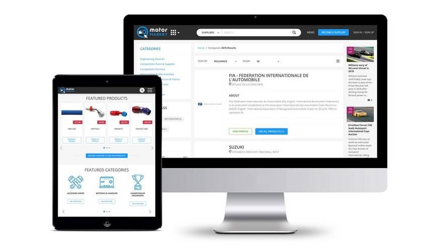Autosport Launches MotorMarket.com