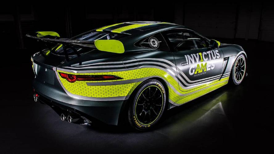 Invictus Games Racing JLR F-type SVO GT4