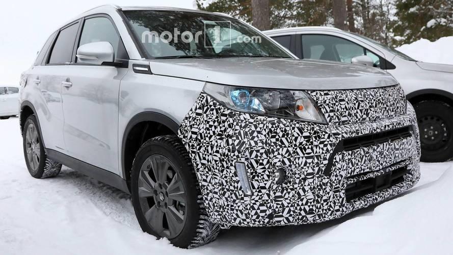 Suzuki Vitara facelift photos espion