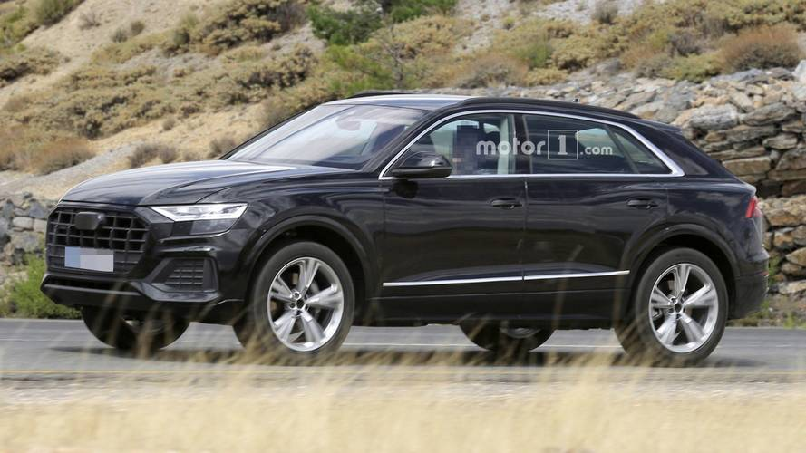 Fotos espía: el Audi Q8 2018 se deja ver casi sin camuflaje
