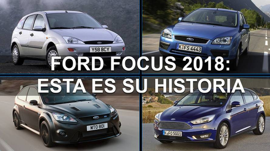 Ford Focus 2018: esta es la historia de sus antecesores
