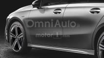 Mercedes Classe A berlina, il rendering
