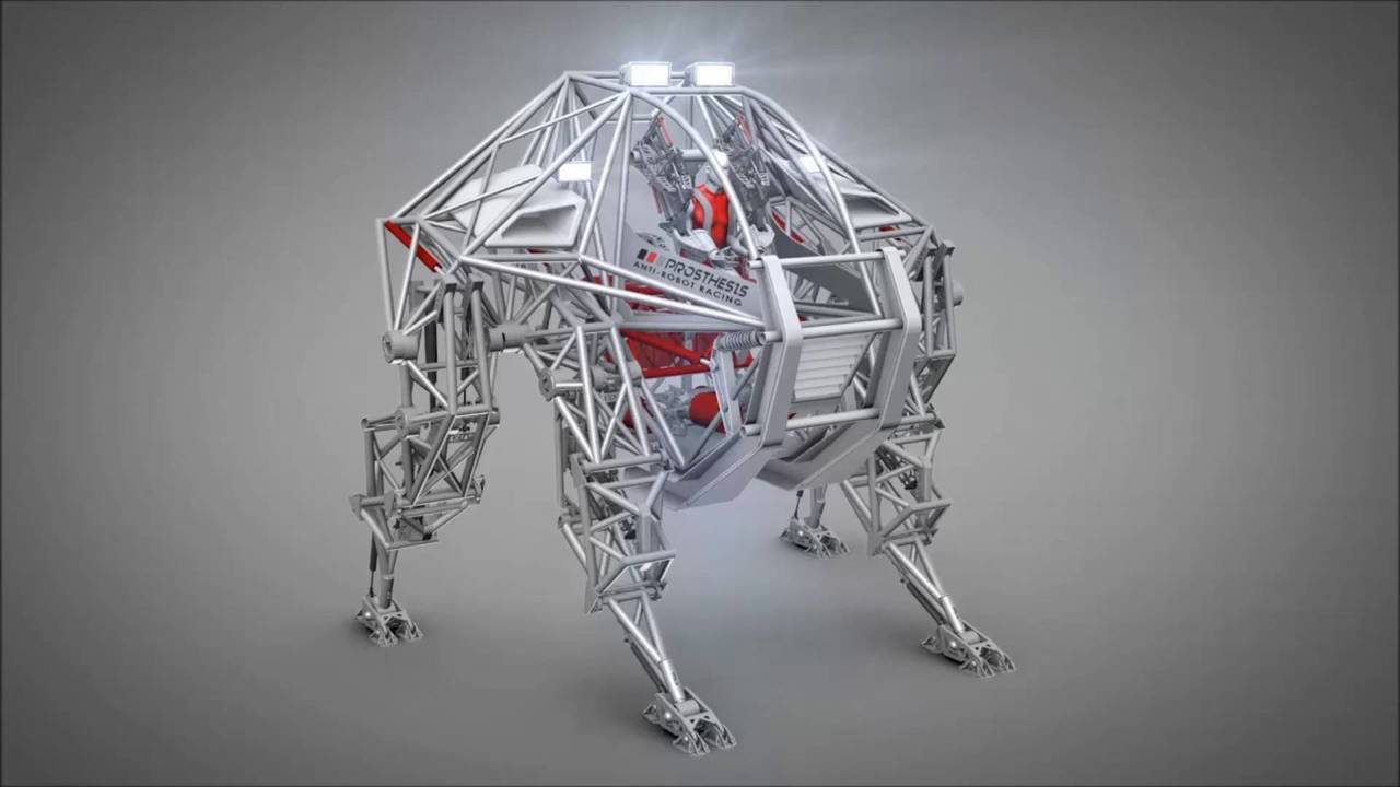 Furrion Prosthesis Yarış Robotu