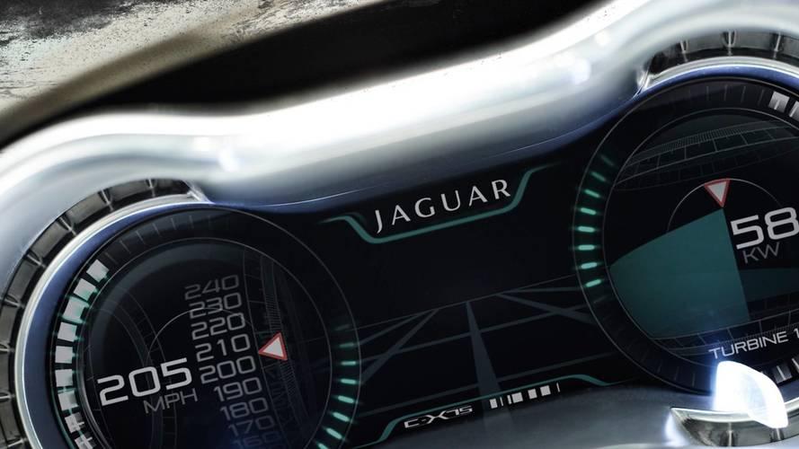 Rendu de la Jaguar C-X75 Roadster
