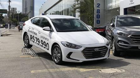Hyundai Elantra é oferecido em promoção por R$ 79.990