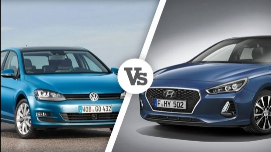 Hyundai i30 Vs Volkswagen Golf, i numeri a confronto