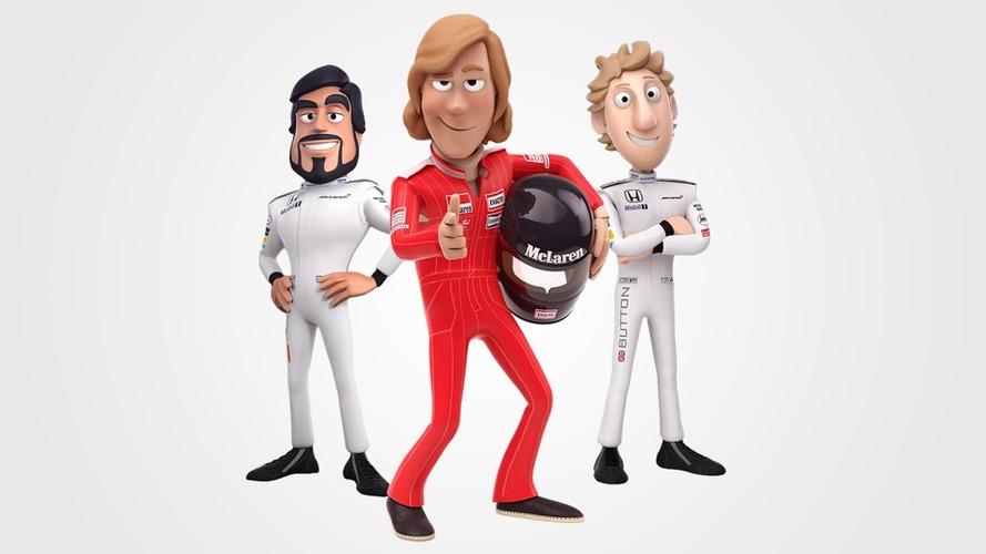 McLaren, James Hunt'ın F1 şampiyonluğunu 'Tooned' ile kutladı