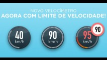 Waze ganha velocímetro com função alerta de limite de velocidade